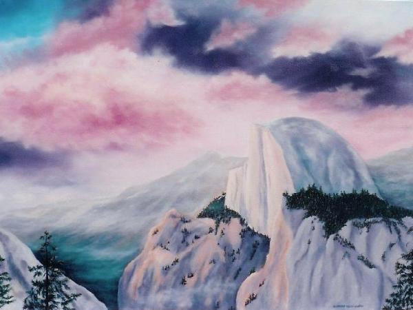 "Yosemite Radiance  24x36""  $1500"