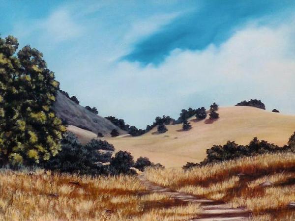 """Diablo's Black Hills  30x40"""" SOLD"""