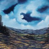 "Moonlit Rhapsody  30x40""  SOLD"