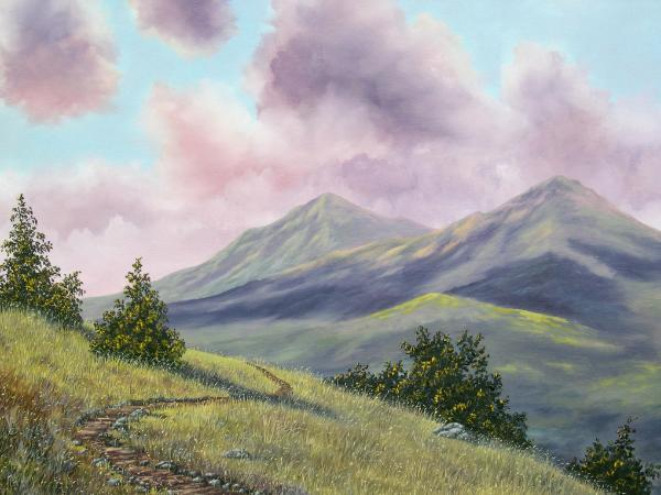 Mt. Diablo's North Peak  24x30   $895