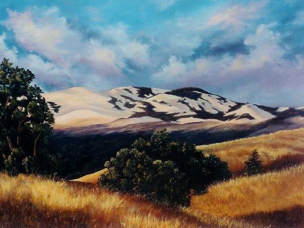 "Danville's Mountain  24x36""  SOLD"
